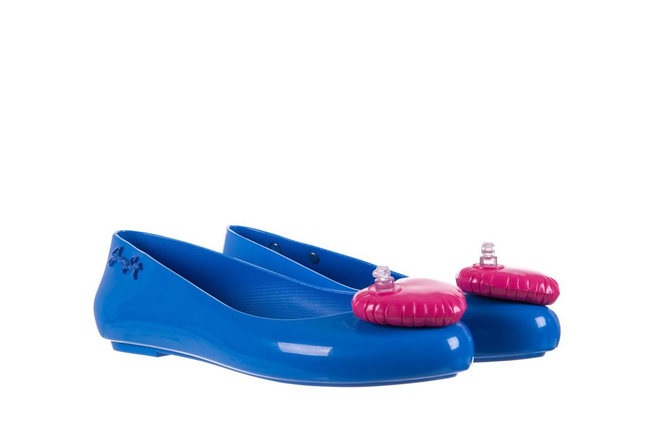 Baleriny melissa space love jeremy sc blue pink, niebieski, guma - melissa - nasze marki 7