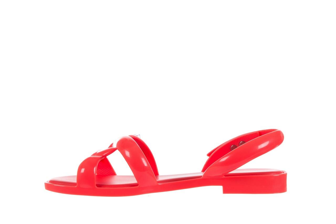 Sandały melissa tube sandal jeremy sc neon orange, pomarańczowy, guma - sandały - melissa - nasze marki 8