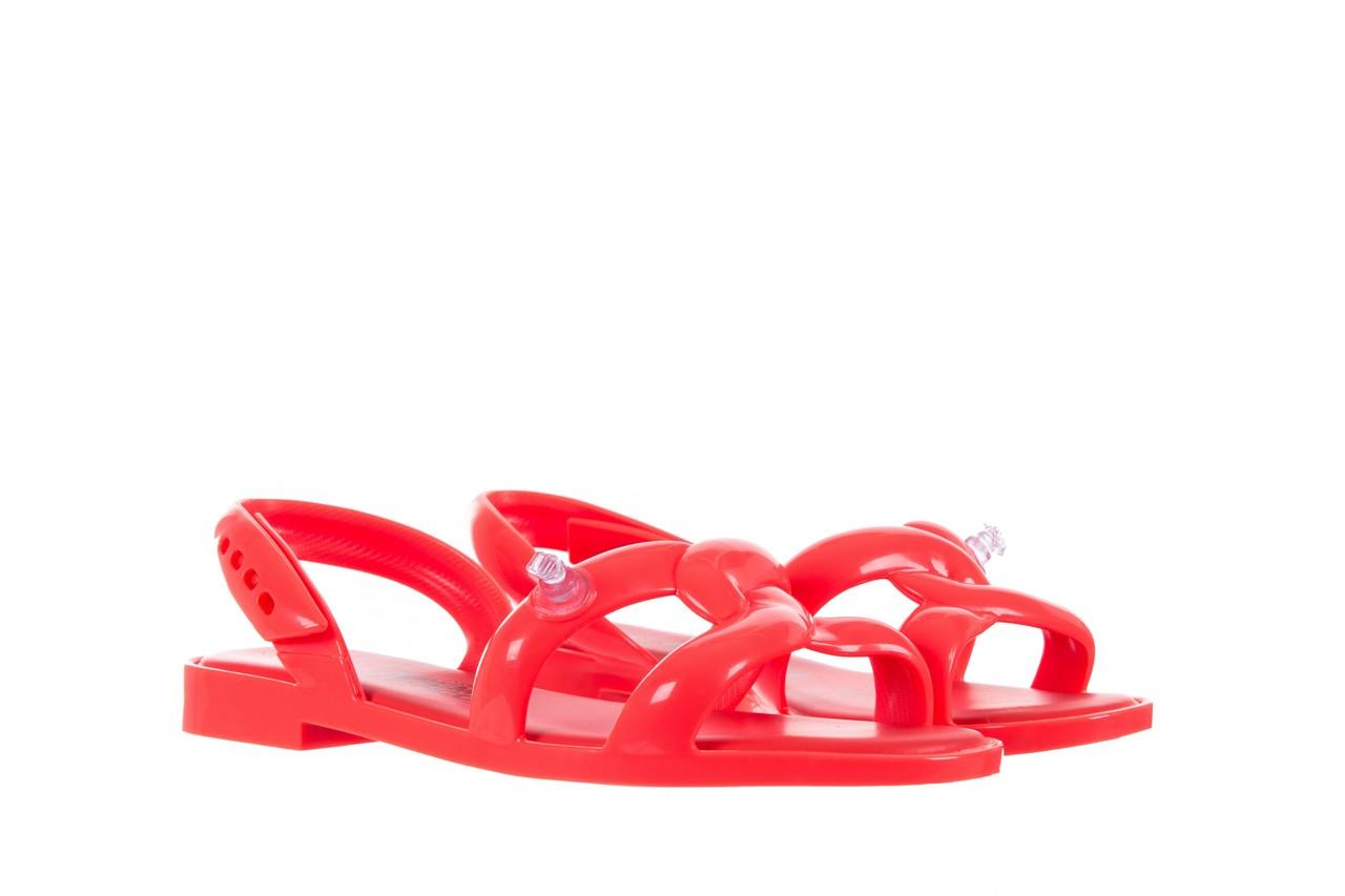Sandały melissa tube sandal jeremy sc neon orange, pomarańczowy, guma - sandały - melissa - nasze marki 7