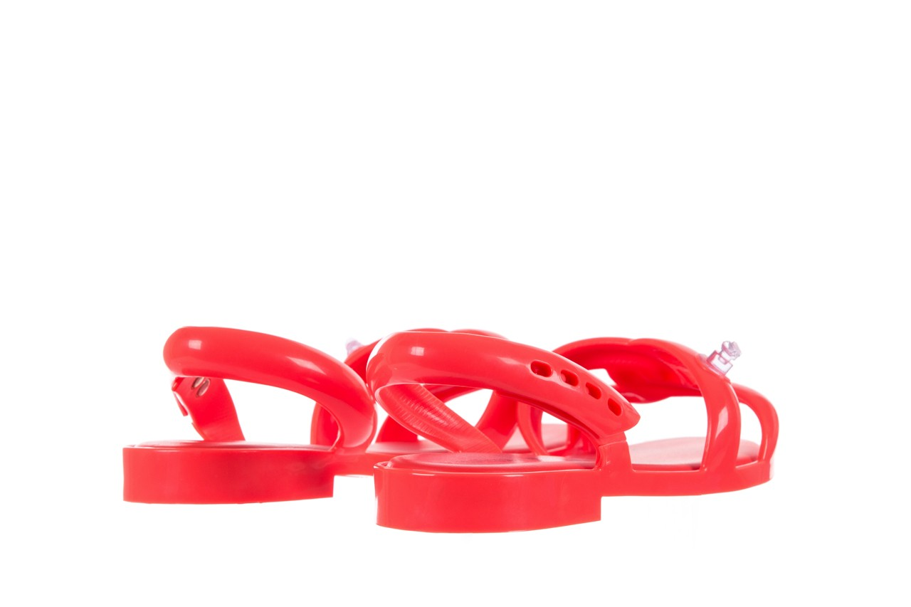 Sandały melissa tube sandal jeremy sc neon orange, pomarańczowy, guma - sandały - melissa - nasze marki 9