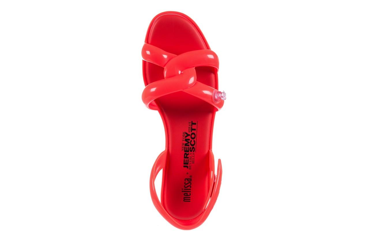 Sandały melissa tube sandal jeremy sc neon orange, pomarańczowy, guma - sandały - melissa - nasze marki 10