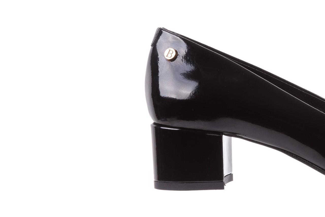Czółenka bayla-172 m005 czarny, skóra naturalna lakierowana  - bayla - nasze marki 15