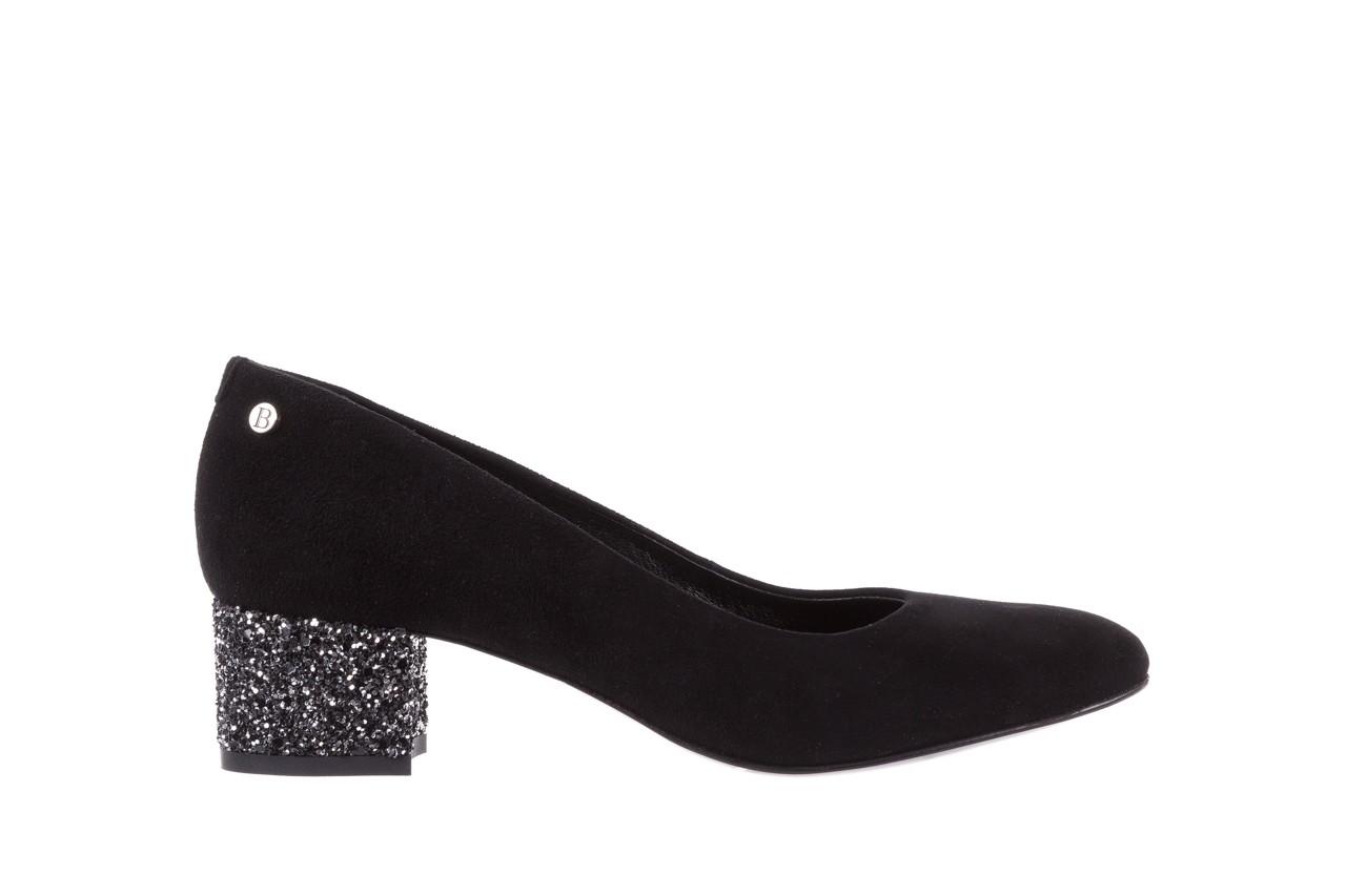Czółenka bayla-172 m006 czarny, skóra naturalna - na słupku - czółenka - buty damskie - kobieta 8