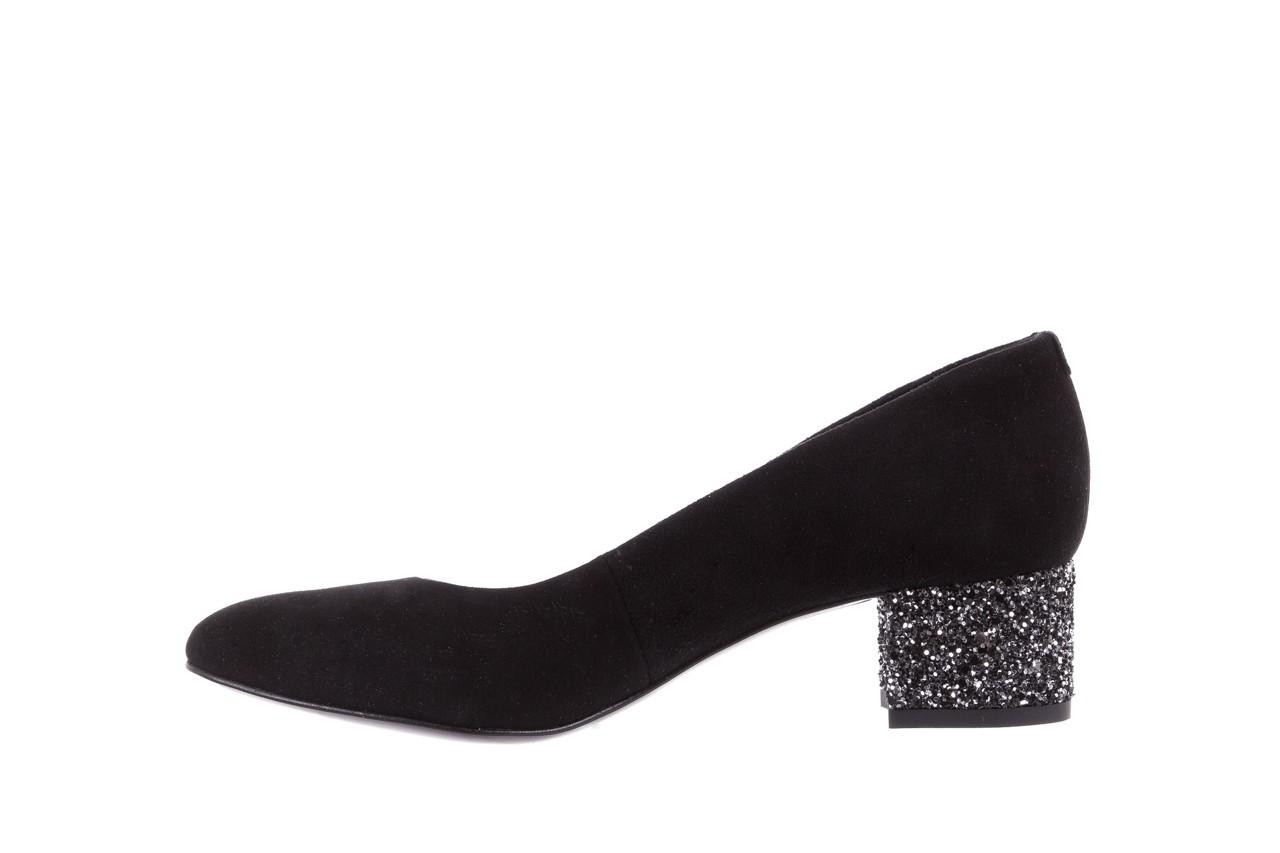 Czółenka bayla-172 m006 czarny, skóra naturalna - na słupku - czółenka - buty damskie - kobieta 11