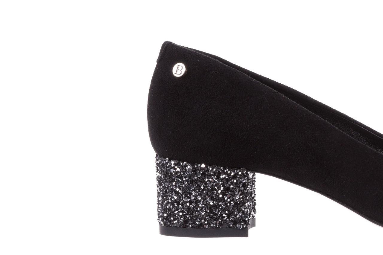 Czółenka bayla-172 m006 czarny, skóra naturalna - na słupku - czółenka - buty damskie - kobieta 14