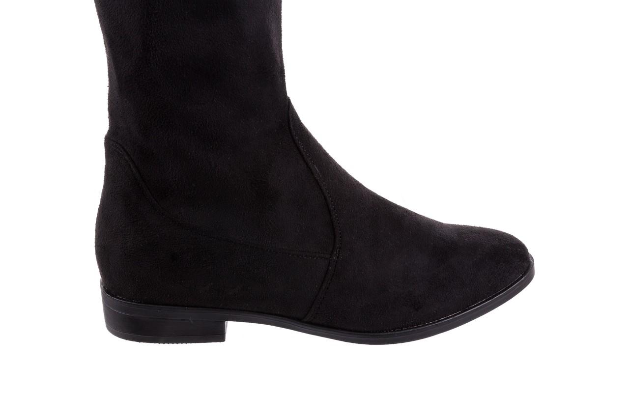Kozaki bayla-175 16061-0396 black, czarny, materiał - bayla - nasze marki 11