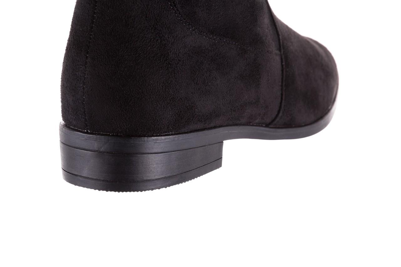 Kozaki bayla-175 16061-0396 black, czarny, materiał - bayla - nasze marki 12