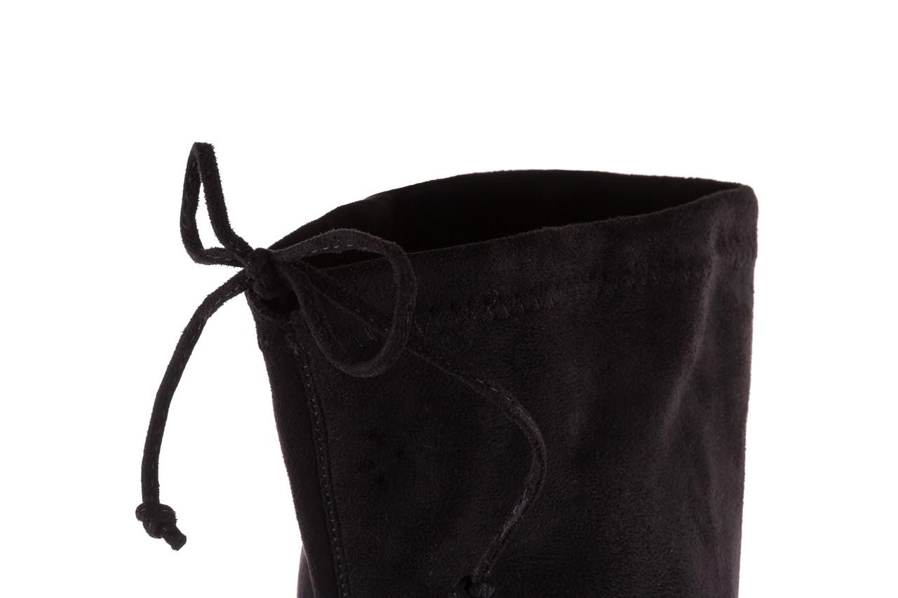 Kozaki bayla-175 16061-0396 black, czarny, materiał - bayla - nasze marki 13