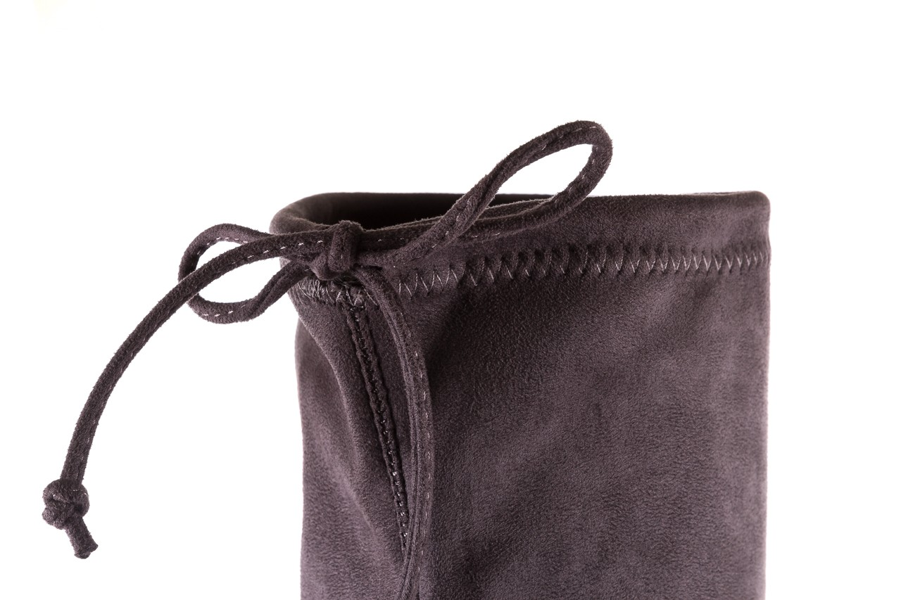 Kozaki bayla-175 16061-0396 grey, szary, materiał - kozaki - buty damskie - kobieta 13