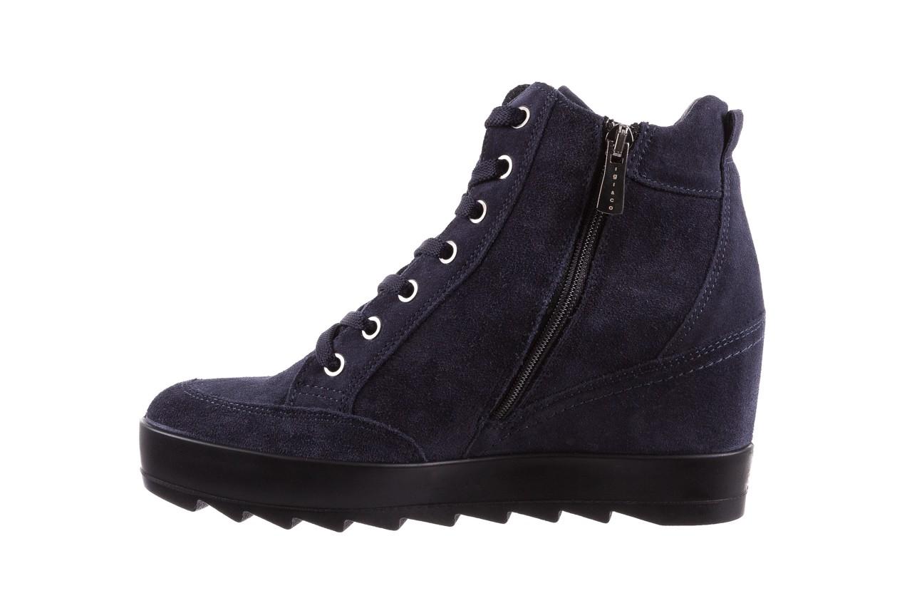 Sneakersy igi&co 8800200 blu, granat, skóra naturalna  - obuwie sportowe - buty damskie - kobieta 9