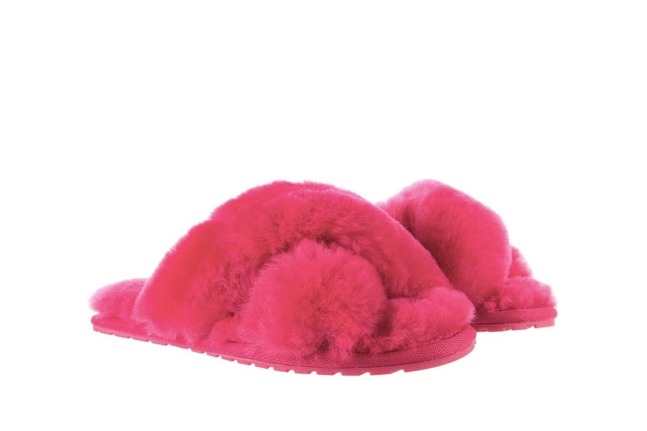 Klapki emu mayberry fuschia, róż, futro naturalne - emu - nasze marki 9