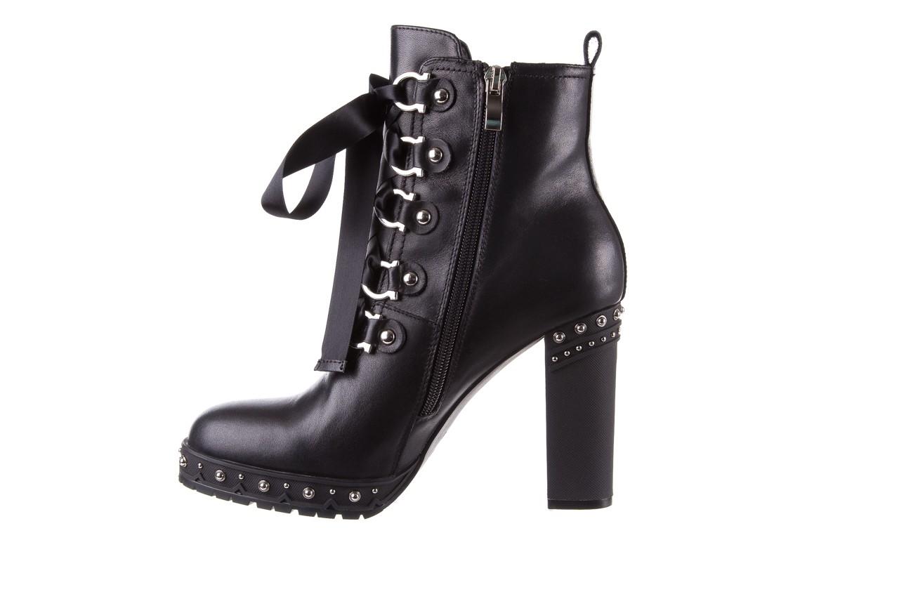 Botki bayla-144 9308 czarne botki 144020, skóra naturalna - skórzane - botki - buty damskie - kobieta 11
