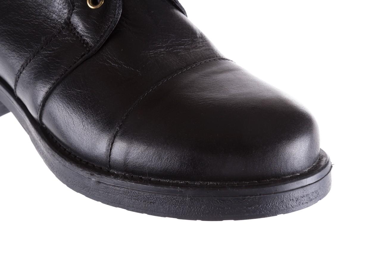 Trzewiki bayla-164 top 16a black 164004, czarny, skóra naturalna  - bayla - nasze marki 13