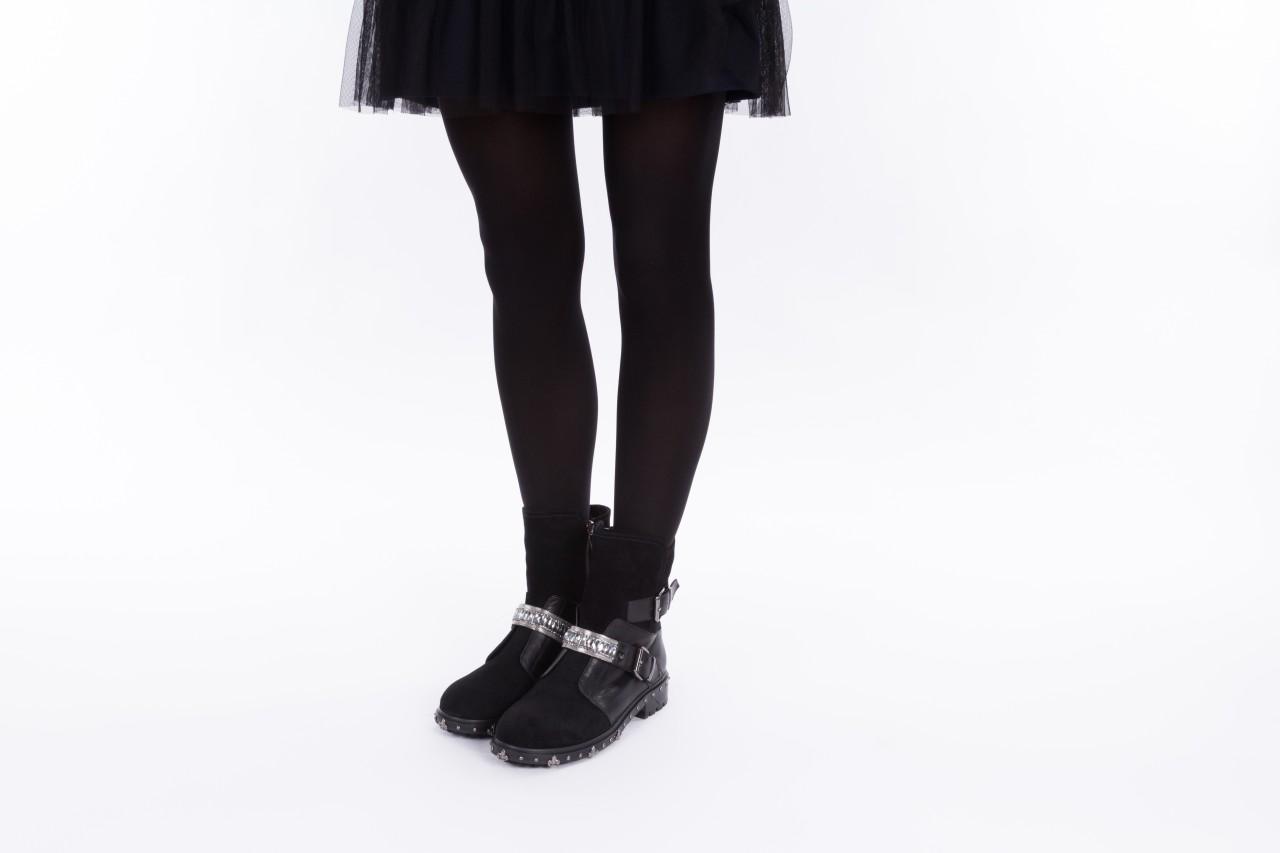 Trzewiki bayla-144 9301 czarne, skóra naturalna - trzewiki - buty damskie - kobieta 12