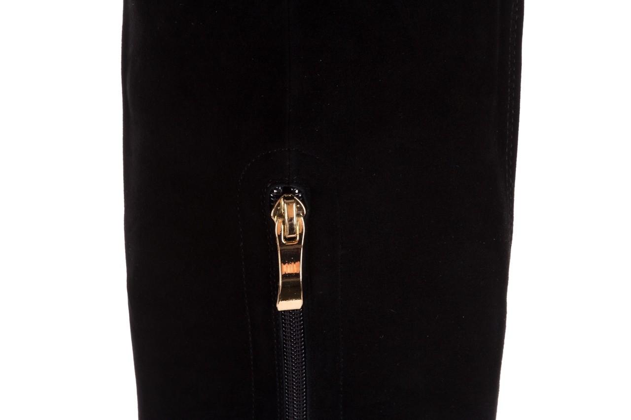 Kozaki sca'viola f-100 black czarny, skóra naturalna - sca`viola - nasze marki 13