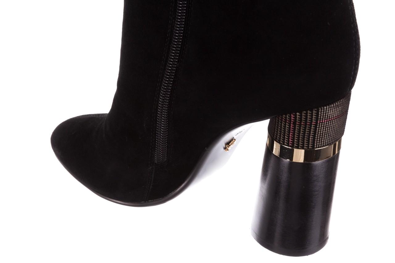 Kozaki sca'viola f-100 black czarny, skóra naturalna - sca`viola - nasze marki 14