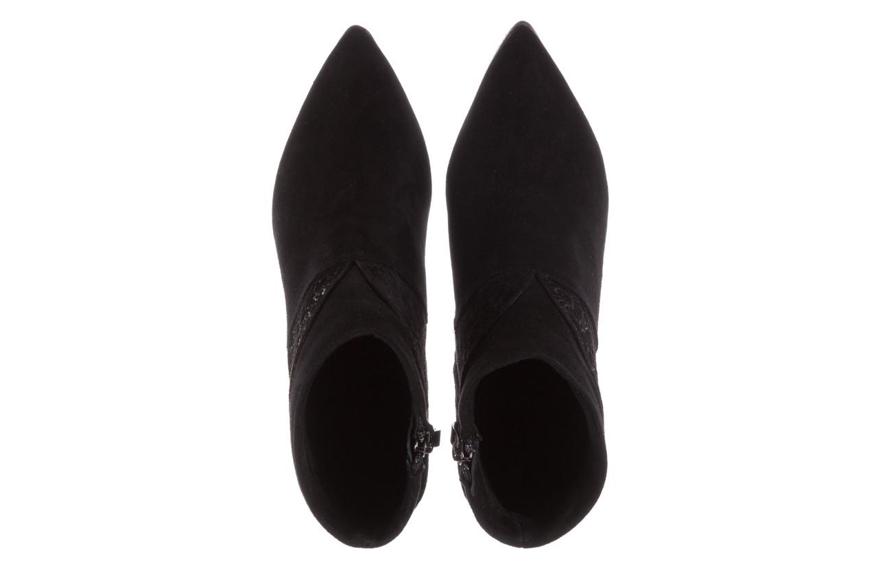 Botki bayla-097 19 botki czarne, skóra naturalna - zamszowe - botki - buty damskie - kobieta 13