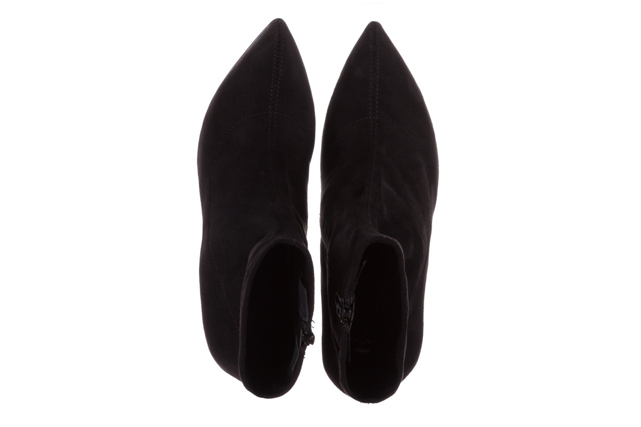 Botki bayla-056 9068-730 czarne botki zamsz stretch, materiał - bayla - nasze marki 13