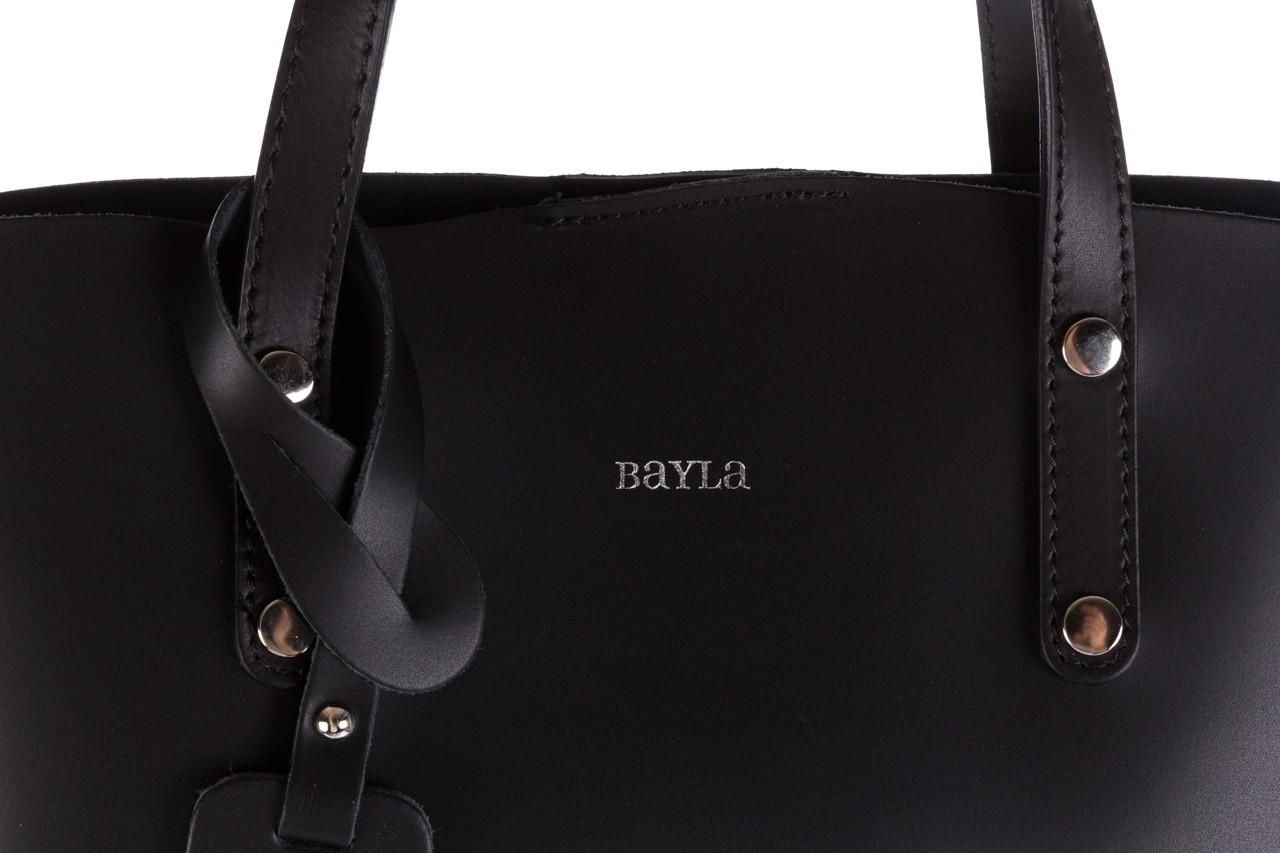Torebka bayla-180 czarna torebka ze skóry loren - akcesoria - kobieta 12