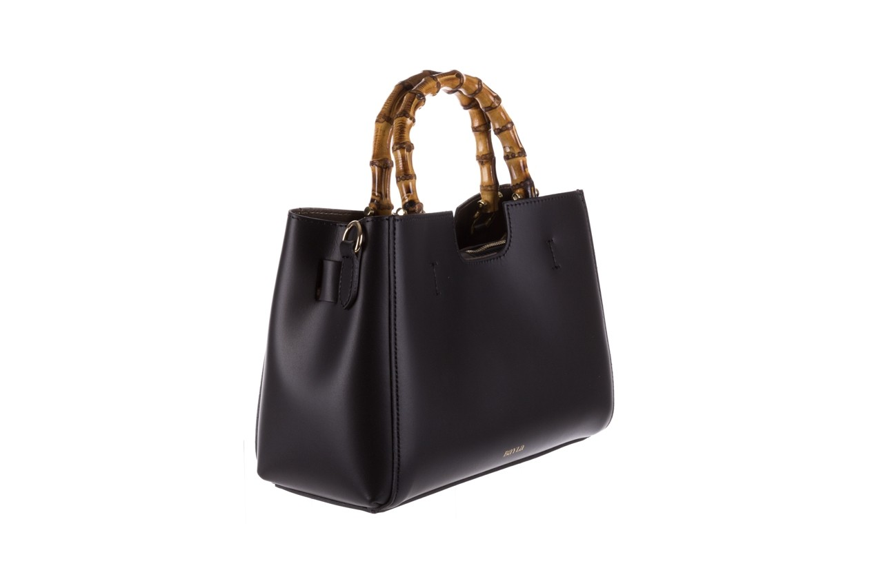 Torebka bayla-180 czarna torebka ze skóry kora - torebki - akcesoria - kobieta 6