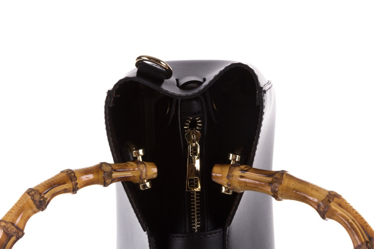Torebka bayla-180 czarna torebka ze skóry kora - torebki - akcesoria - kobieta 9