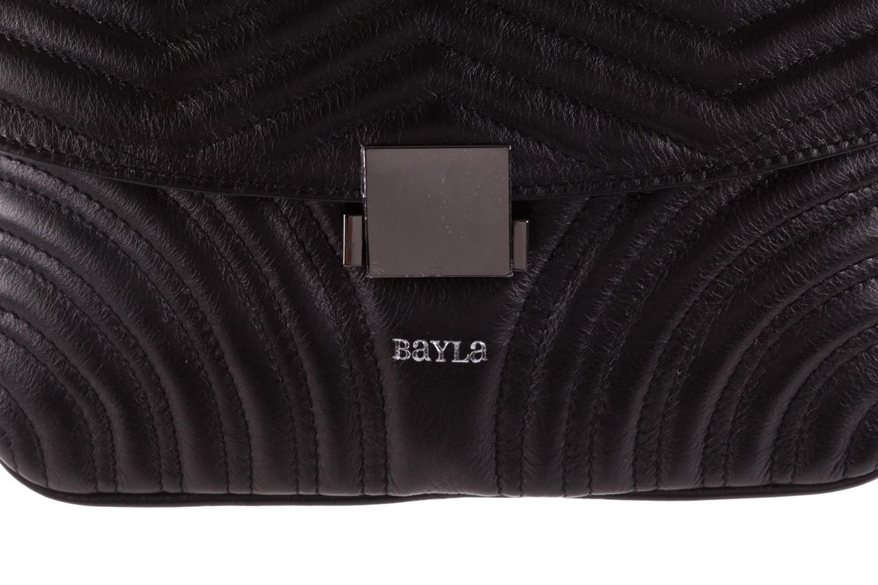 Torebka bayla-180 czarna torebka ze skóry mia - bayla - nasze marki 12