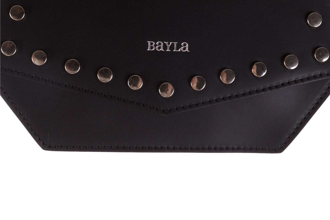 Torebka bayla-180 czarna torebka ze skóry lola - bayla - nasze marki 7