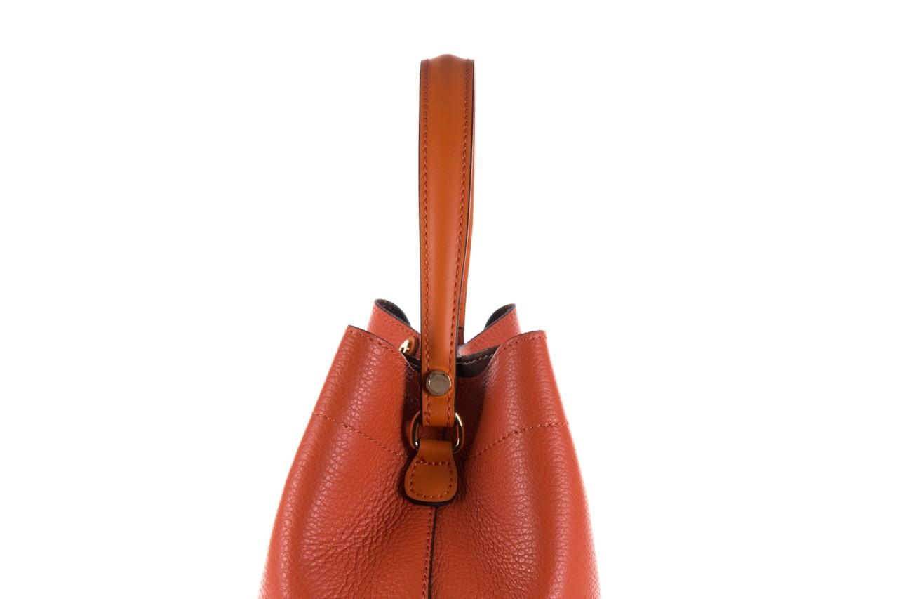 Torebka bayla-180 pomarańczowa torebka ze skóry hera - bayla - nasze marki 11