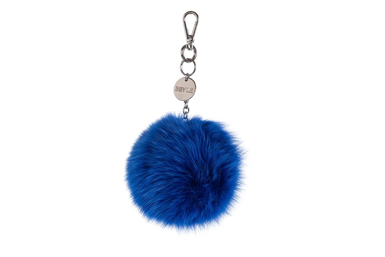 Brelok bayla-125 brelok lis niebieski łańcuch, futro naturalne  - bayla - nasze marki 1