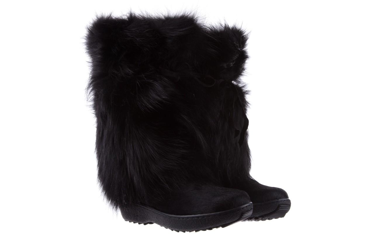 Śniegowce oscar volpe nero, czarny, futro naturalna  - oscar - nasze marki 7