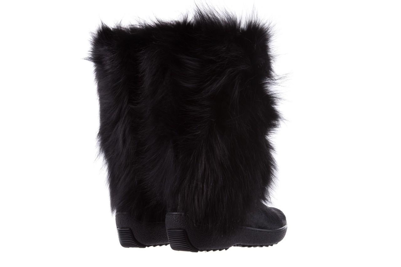 Śniegowce oscar volpe nero, czarny, futro naturalna  - oscar - nasze marki 9
