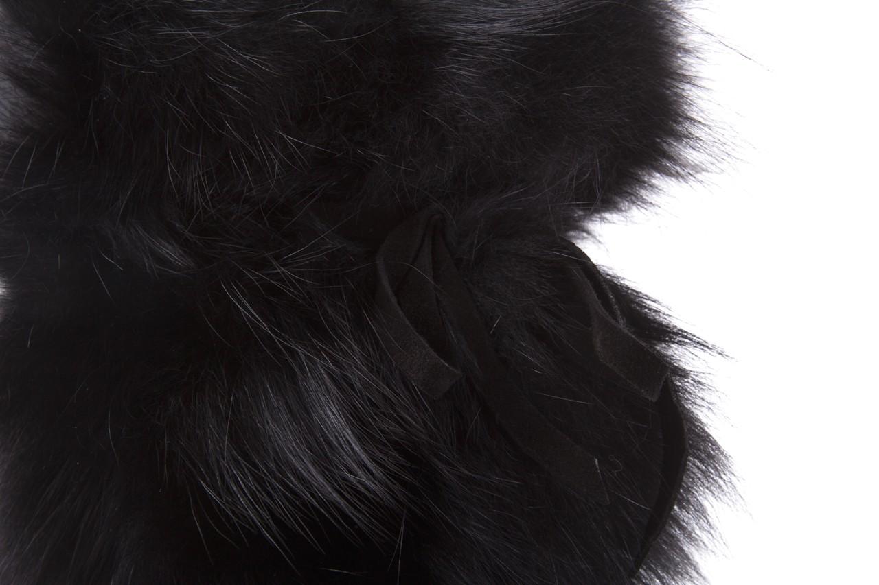 Śniegowce oscar volpe nero, czarny, futro naturalna  - oscar - nasze marki 11