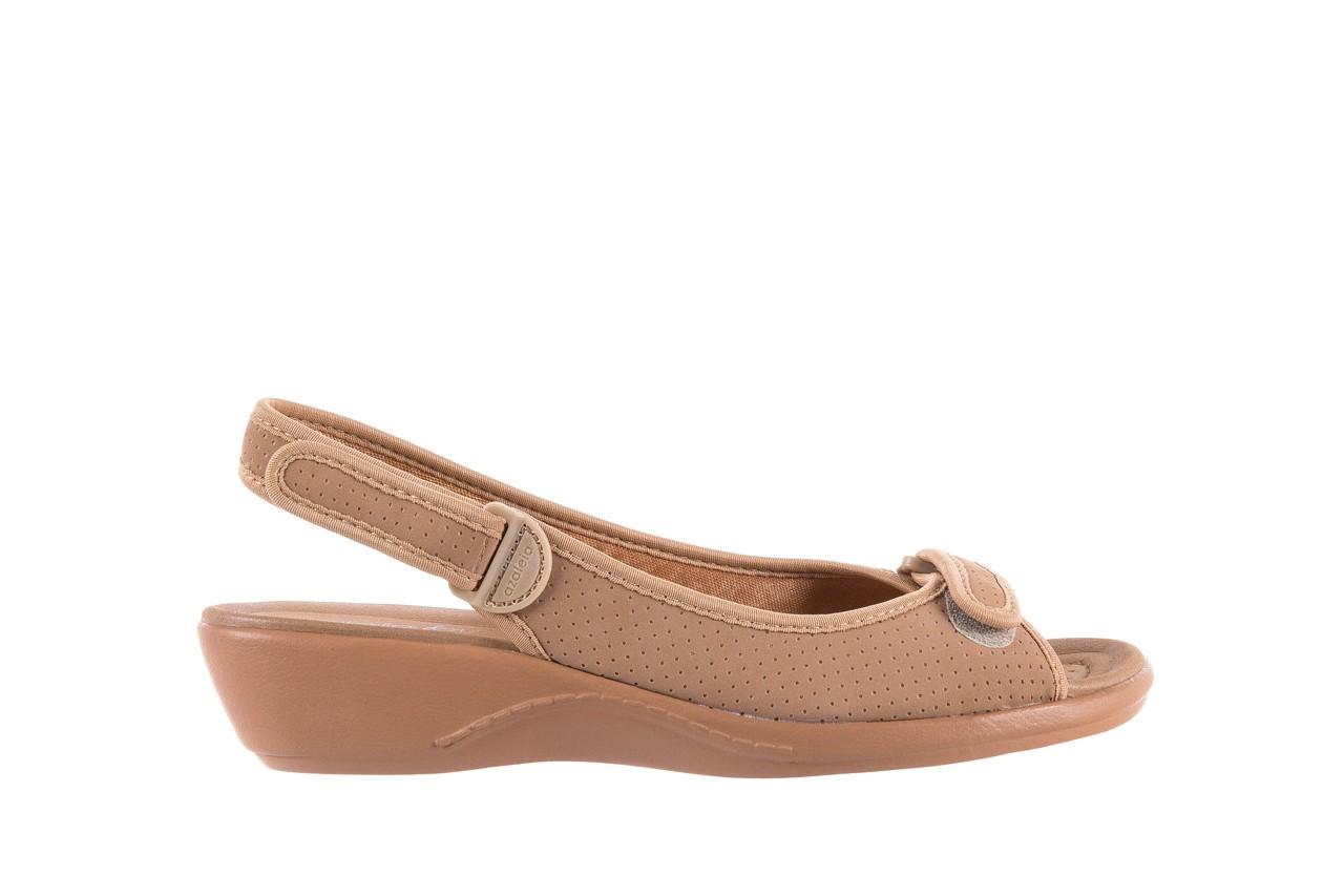 Sandały azaleia 322 248 nobuck beige, beż, materiał 7