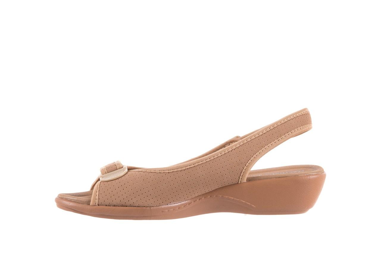Sandały azaleia 322 248 nobuck beige, beż, materiał 9