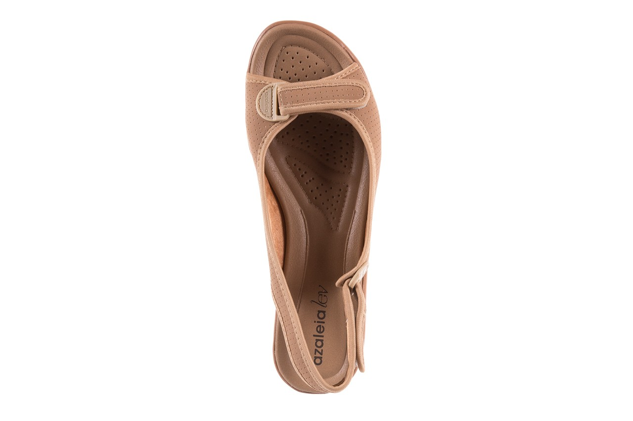 Sandały azaleia 322 248 nobuck beige, beż, materiał 11