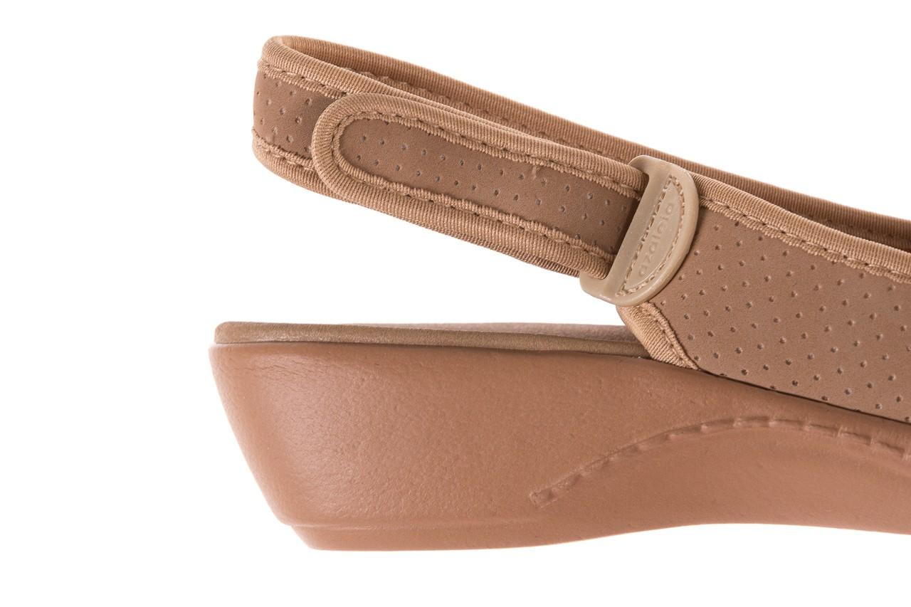 Sandały azaleia 322 248 nobuck beige, beż, materiał 13