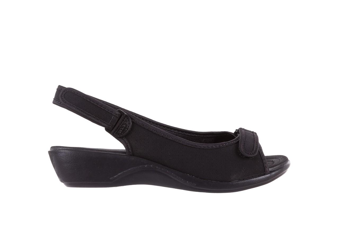 Sandały azaleia 322 248 nobuck black 17, czarny, materiał  - sandały - dla niej - dodatkowe -10% 7