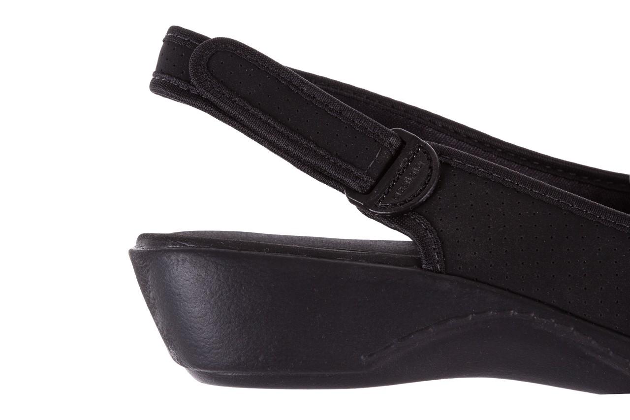 Sandały azaleia 322 248 nobuck black 17, czarny, materiał  - sandały - dla niej - dodatkowe -10% 13