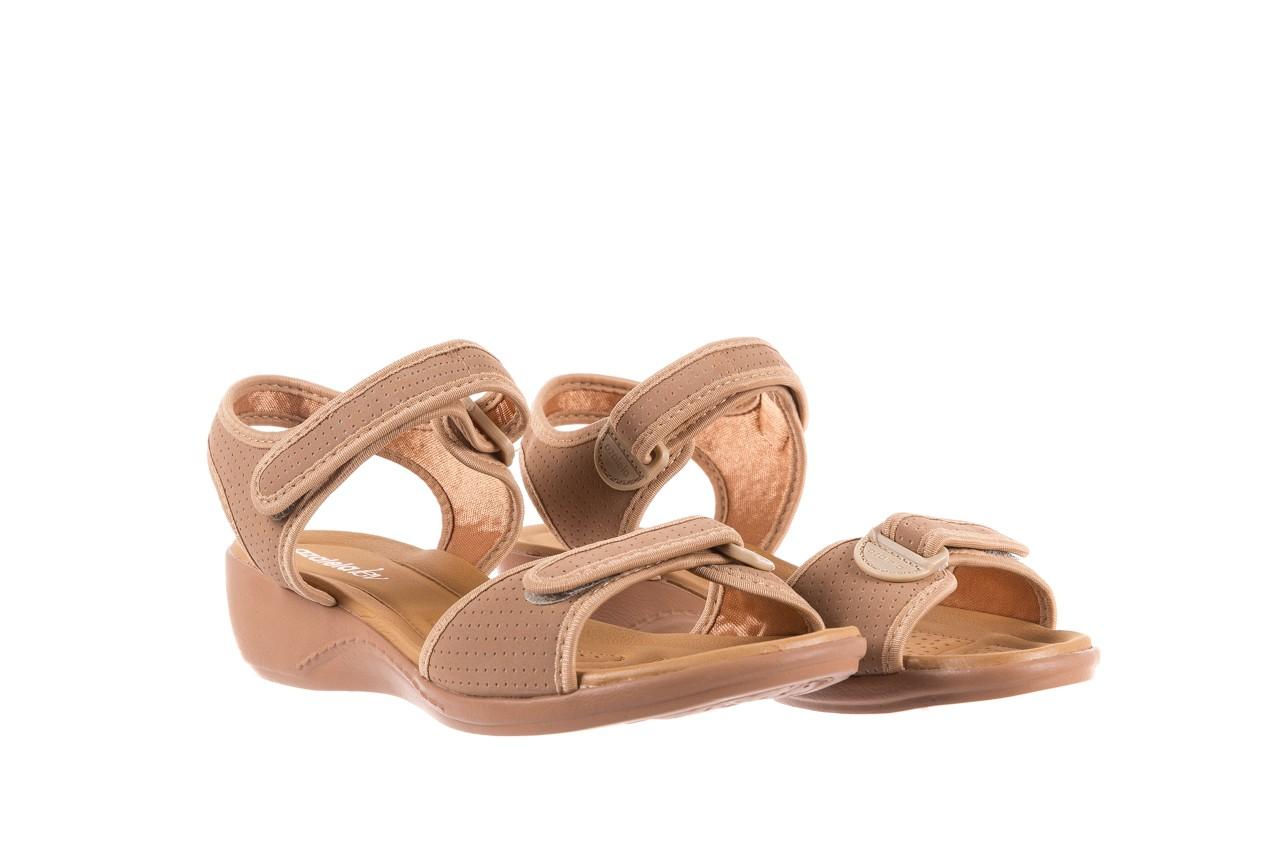 Sandały azaleia 322 363 nobuck beige, beż, materiał - sandały - dla niej - dodatkowe -10% 7