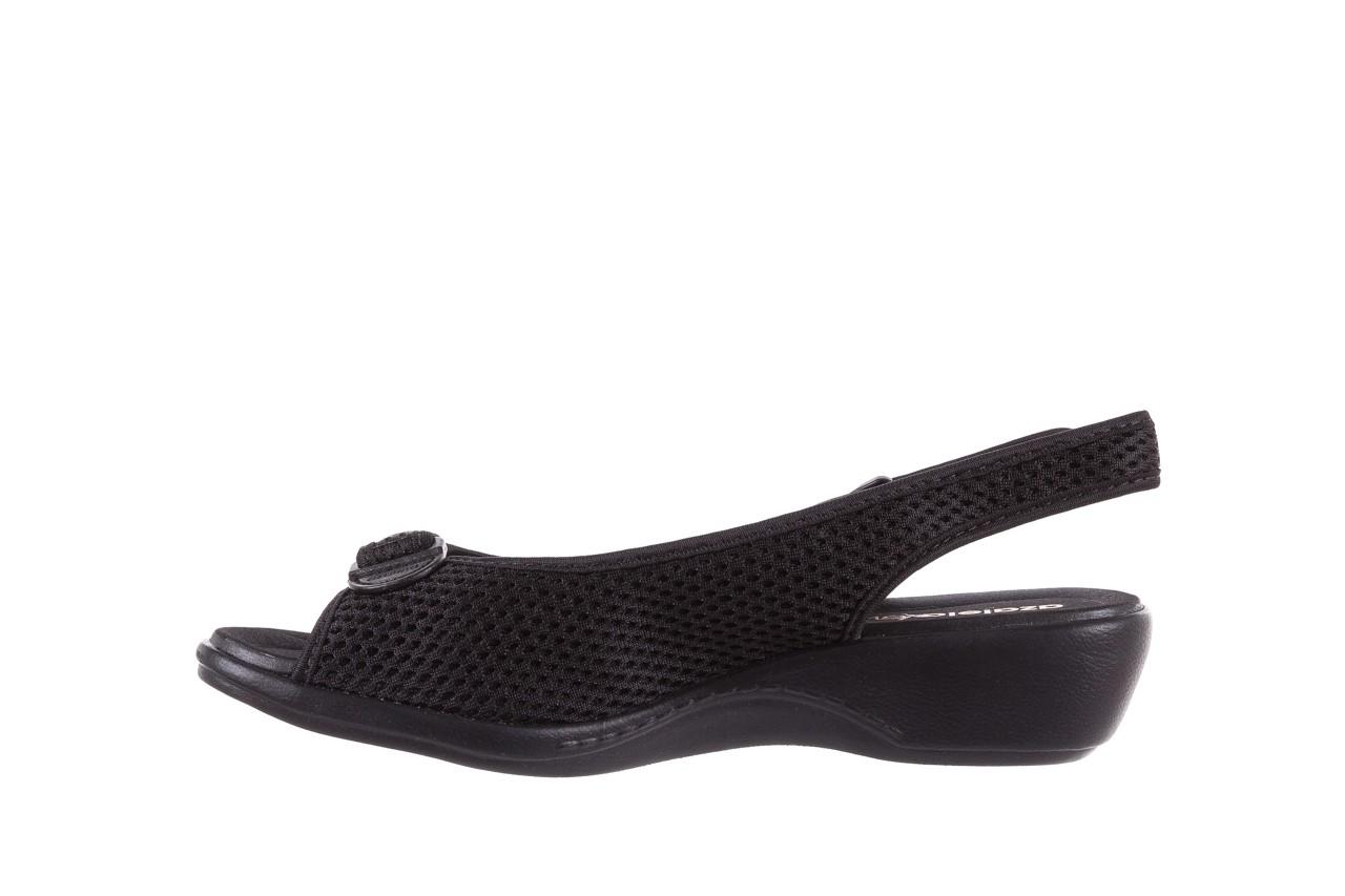 Sandały azaleia 322 261 black, czarny, materiał - azaleia - nasze marki 9
