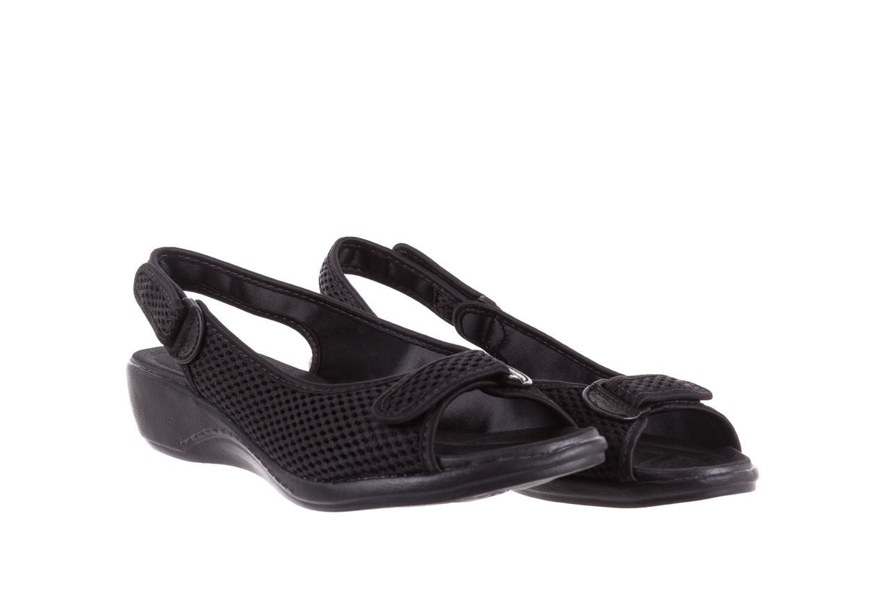Sandały azaleia 322 261 black, czarny, materiał - azaleia - nasze marki 8