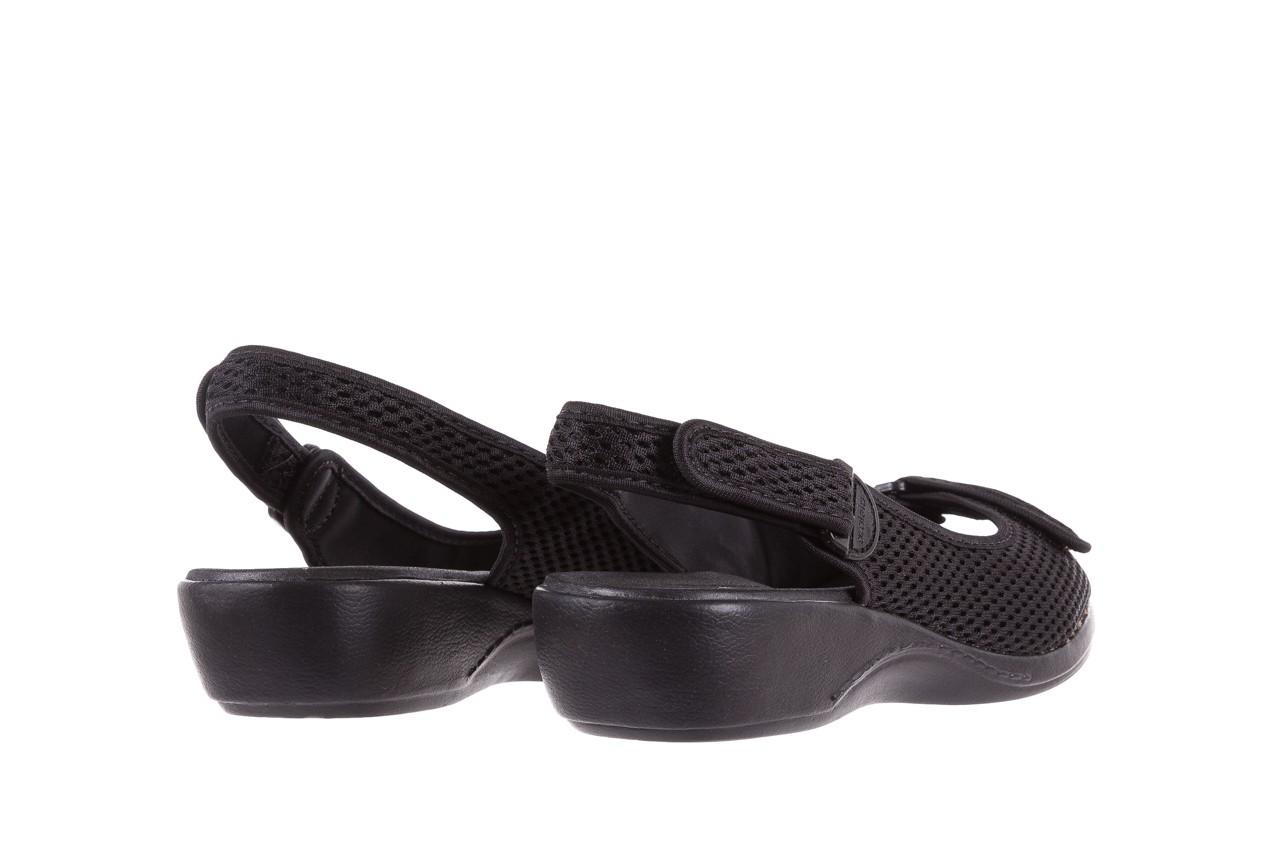 Sandały azaleia 322 261 black, czarny, materiał - azaleia - nasze marki 10