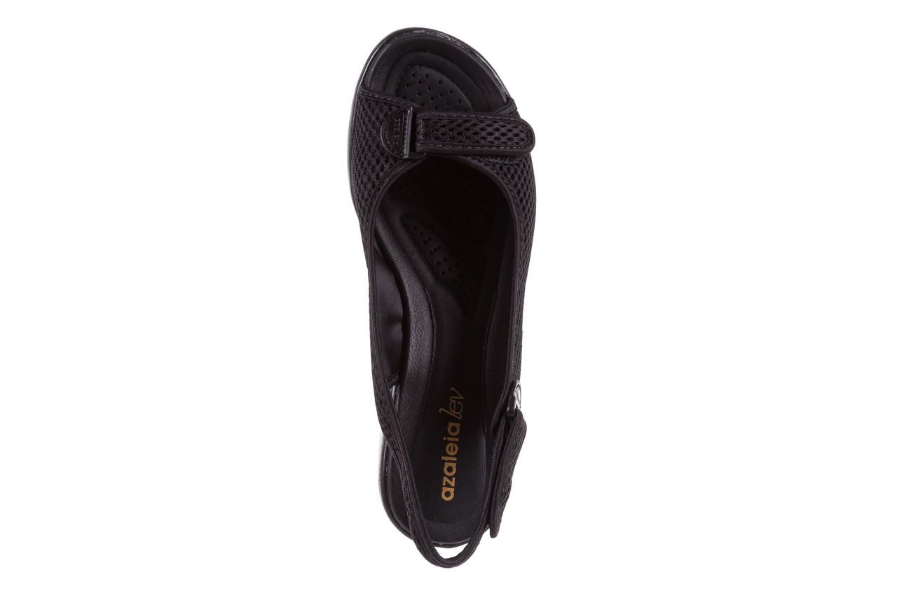 Sandały azaleia 322 261 black, czarny, materiał - azaleia - nasze marki 11