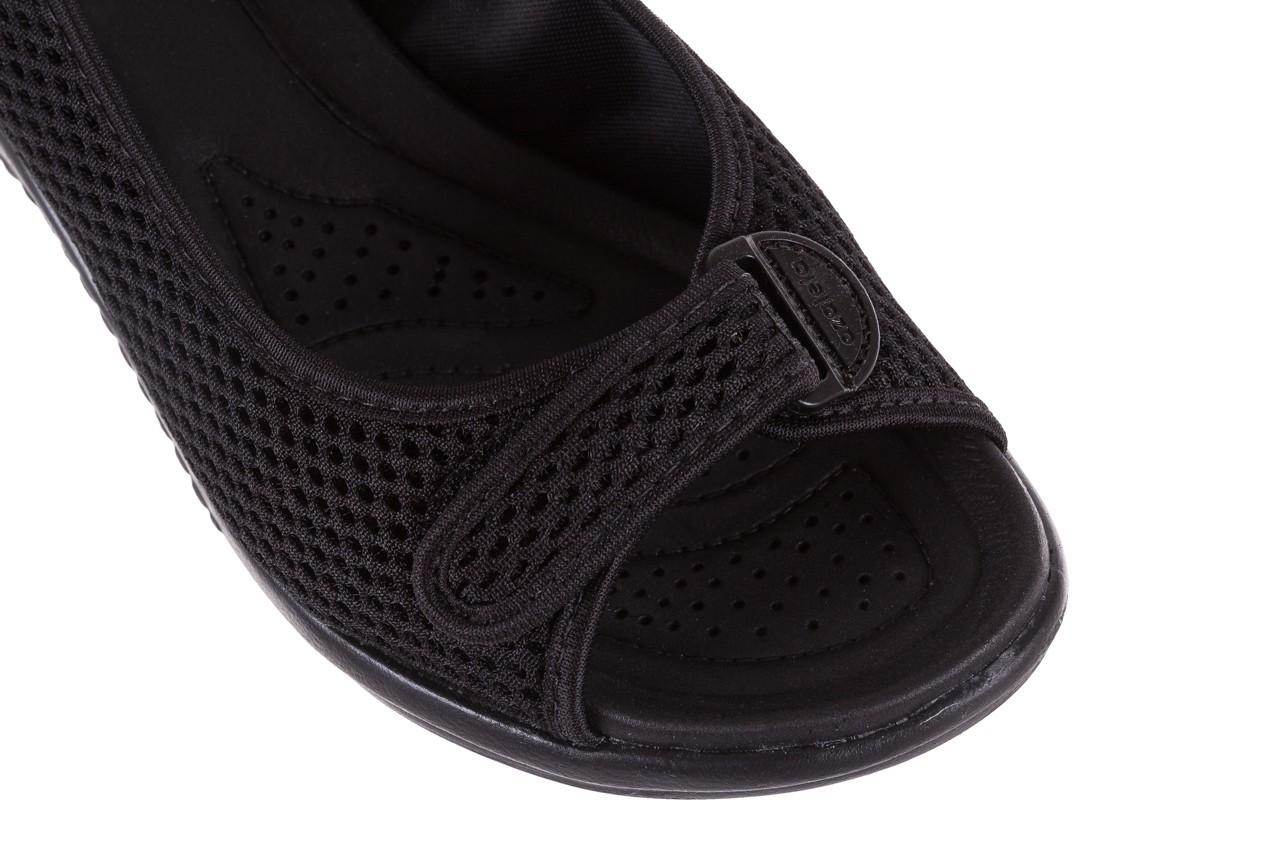 Sandały azaleia 322 261 black, czarny, materiał - azaleia - nasze marki 12