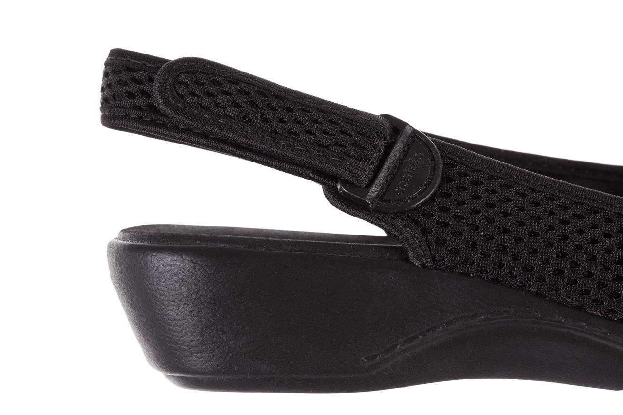 Sandały azaleia 322 261 black, czarny, materiał - azaleia - nasze marki 13