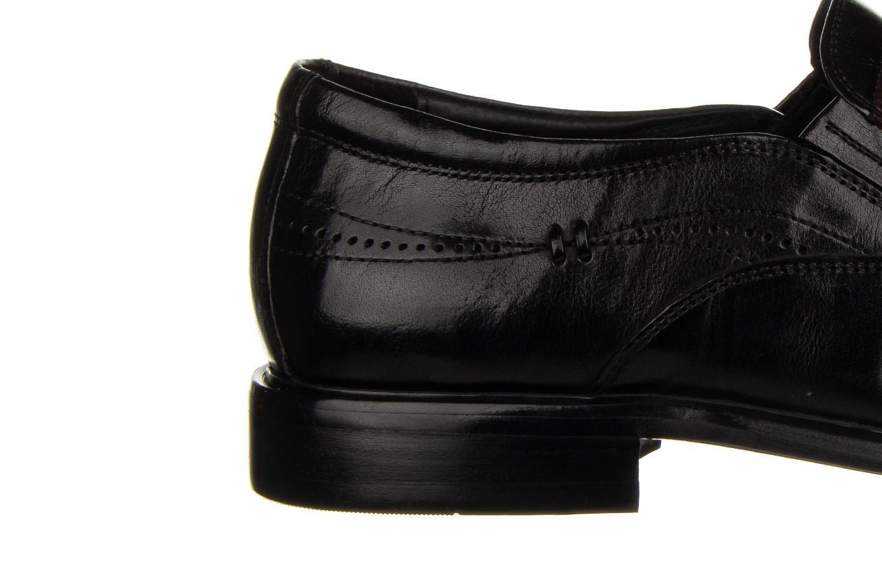 Półbuty john doubare ygc-z253-351-1 black 104176, czarny, skóra naturalna  - nowości 18