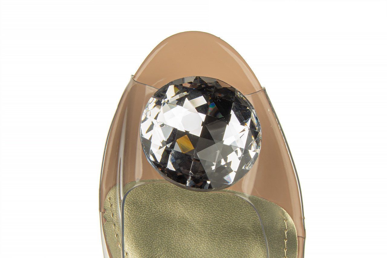 Sandały sca'viola g-15 l pink 21 047182, róż, silikon - na obcasie - sandały - buty damskie - kobieta 19