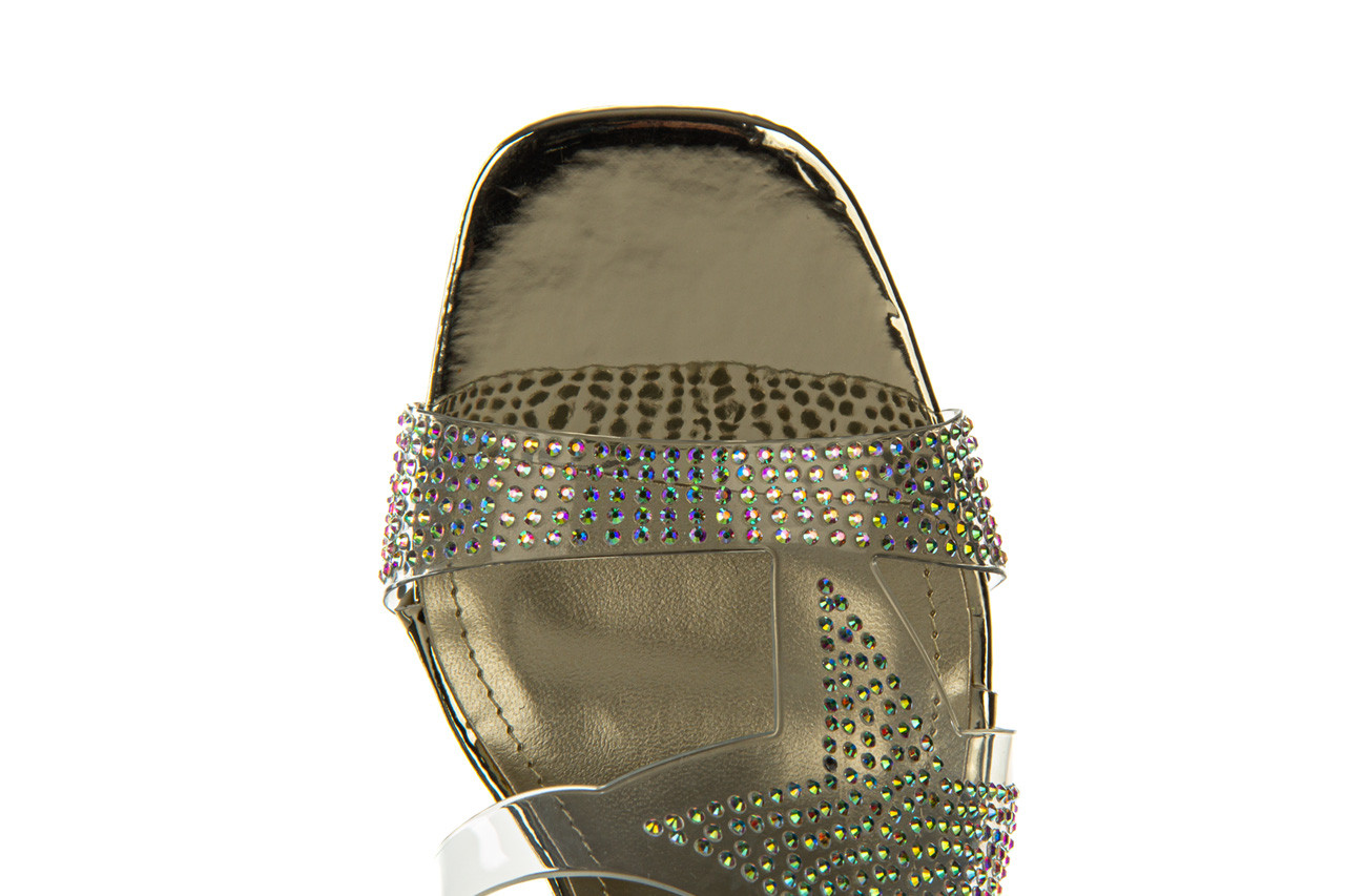 Klapki sca'viola g-59 gold 047189, złoty, silikon - klapki - buty damskie - kobieta 19