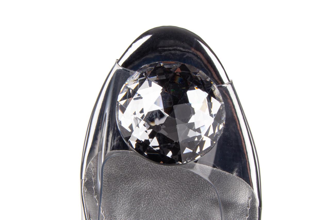Sandały sca'viola g-17 silver 21 047186, srebro, silikon 15
