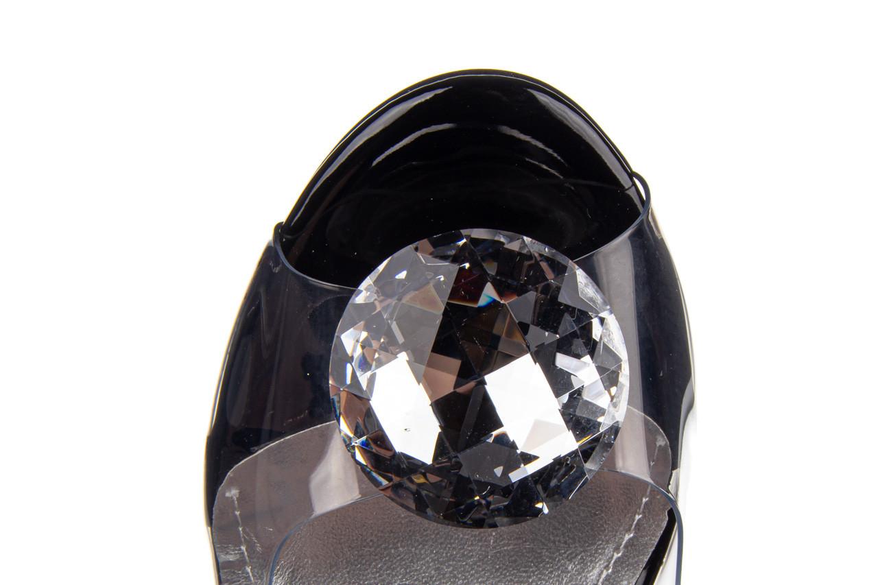 Sandały sca'viola g-17 black 21 047184, czarny, silikon  - na obcasie - sandały - buty damskie - kobieta 19